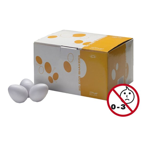 Kit 50 Ganza Stagg Egg Shakers 50