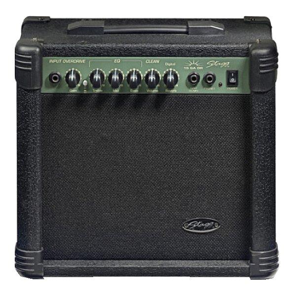 Combo Guitarra Stagg GA 15 DR