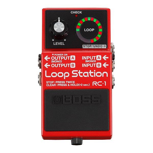 Pedal Guitarra Boss Loop Station RC 1