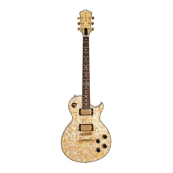 Guitarra LP PHX Luxo Abalone Malibu Pir Top TJ