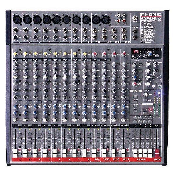 Mesa Analógica Phonic AM 844 D USB