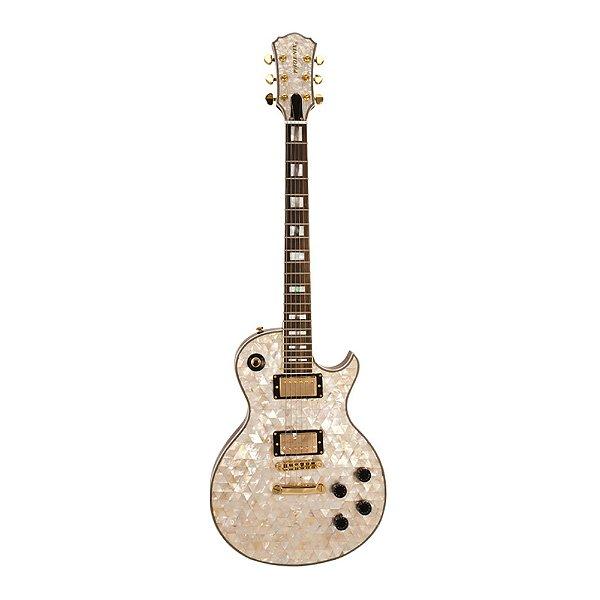 Guitarra LP PHX Luxo Abalone Malibu Pir Top TBK