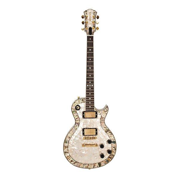 Guitarra LP PHX Luxo Abalone Malibu Pir Top 2P