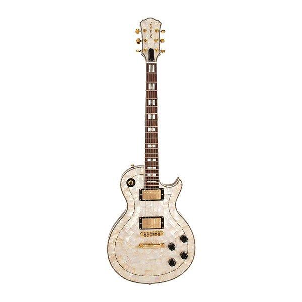 Guitarra LP PHX Luxo Abalone Malibu Pir Top 1P