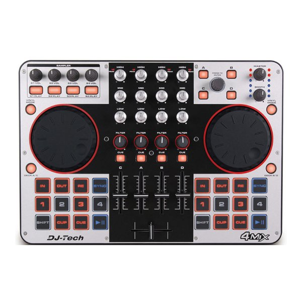 Controlador DJ DJ Tech 4 MIX