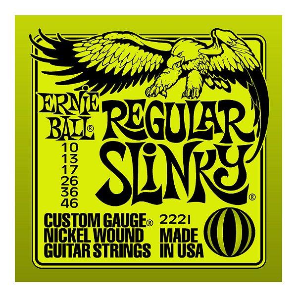Encordoamento Guitarra Ernie Ball 0,10 2221