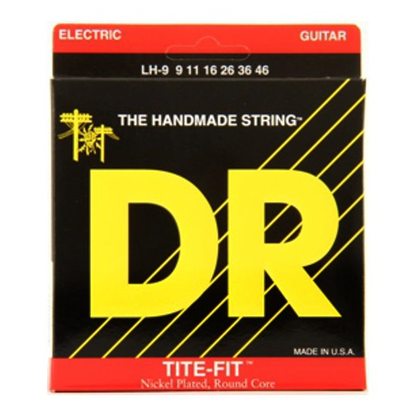 Encordoamento Guitarra DR Tite Fit LH 9