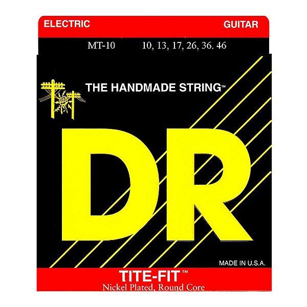 Encordoamento Guitarra DR Tite Fit MT 10