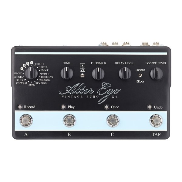 Pedal Guitarra TC Electronic Alter Ego X4
