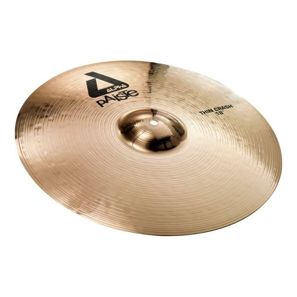 Prato Paiste Alpha Thin Crash 18