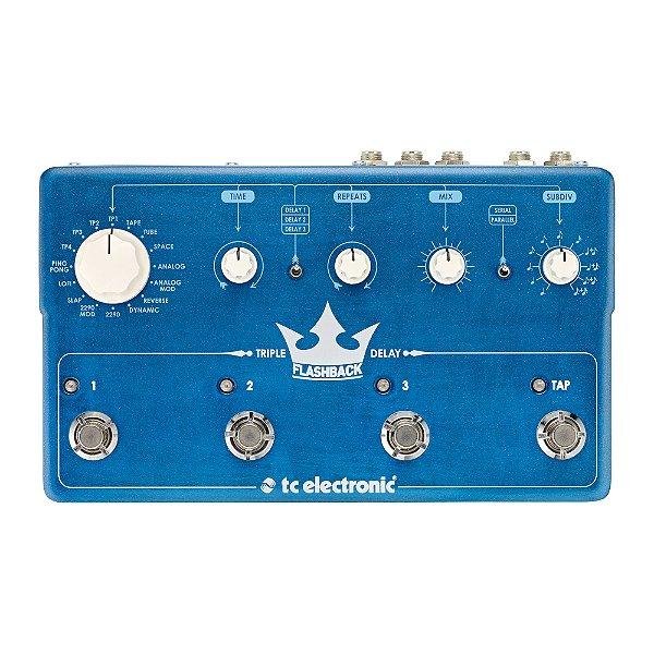 Pedal Guitarra TC Electronic Flashback Triple Delay
