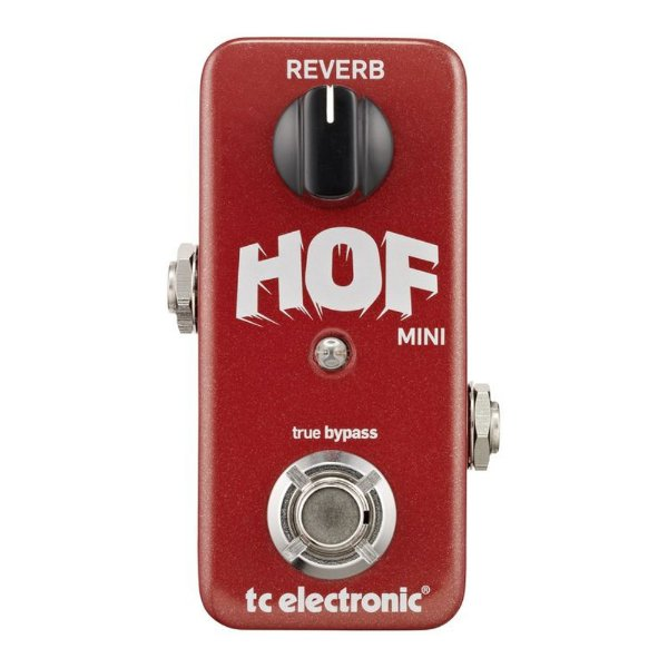 Pedal Guitarra TC Electronic Hall of Fame Mini Reverb