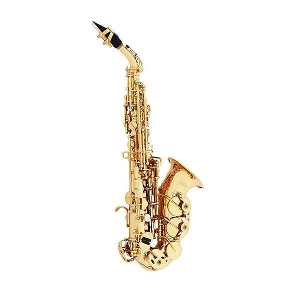 Saxofone Soprano Quasar QSS 104 GL