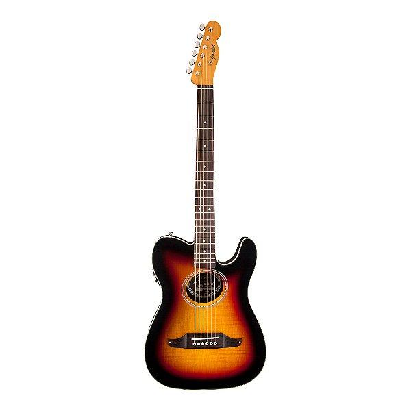 Violão Flat Fender Telecoustic Premier