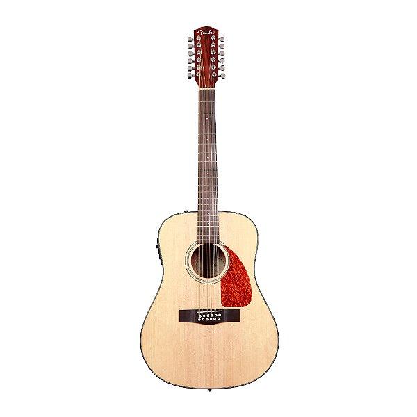 Violão 12C Folk Fender CD 160 SE