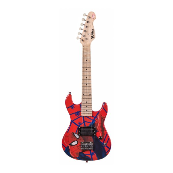 Guitarra Original Infantil PHX Marvel Spider Man Kids