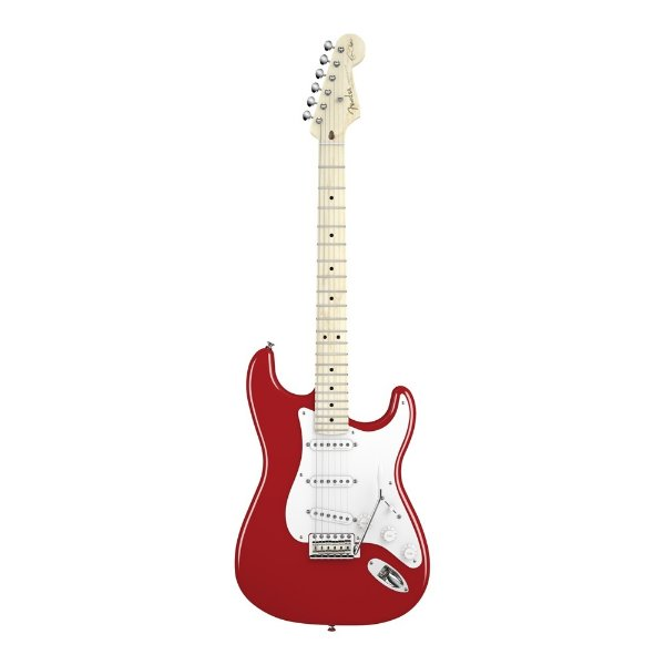 Guitarra Strato Fender Signature Eric Clapton - Vermelho