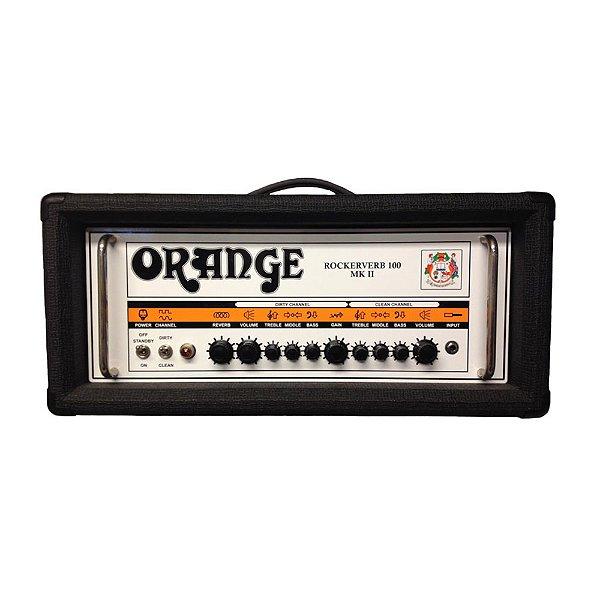 Cabeçote Guitarra Orange Rockerverb 100 H MKII