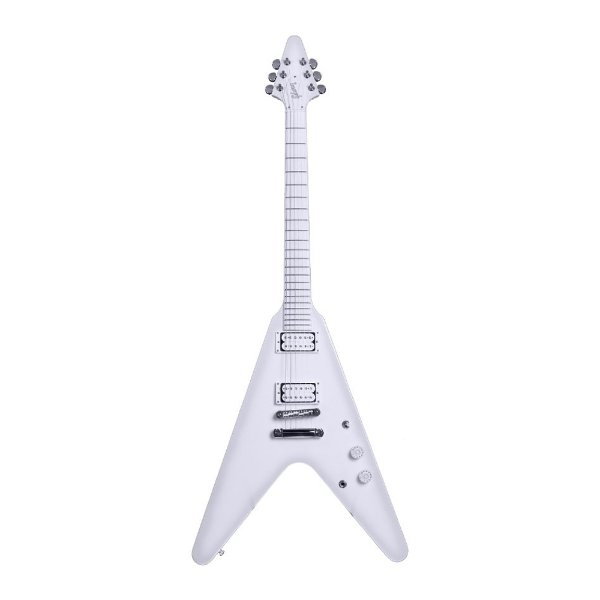 Guitarra Flying V Gibson Brendon Small Snow Falcon V