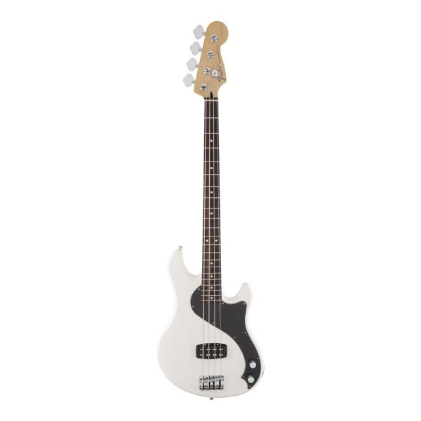 Contrabaixo 4C Passivo Fender Standard Dimension Bass IV Olympic White