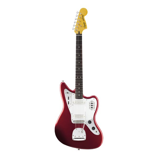 Guitarra Squier By Fender Vintage Modified Jaguar Candy Apple Red