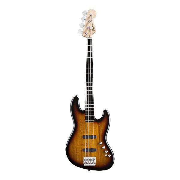 Contrabaixo 4C Ativo Fender by Squier Deluxe J.Bass IV Active SB
