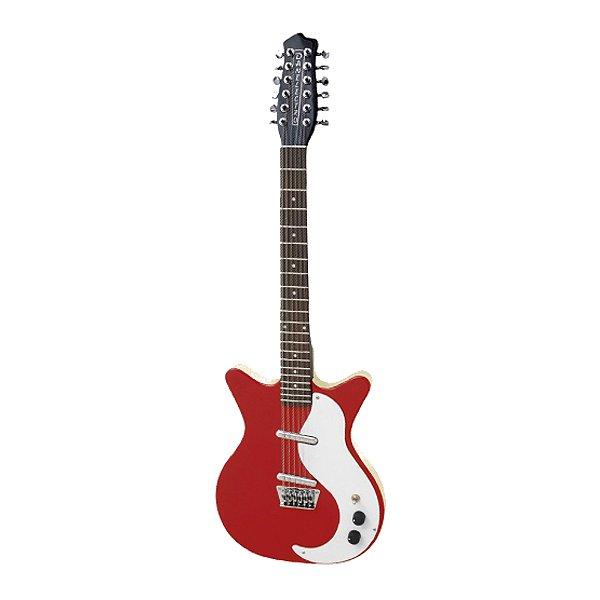 Guitarra 12C Original Danelectro 12S DC Red