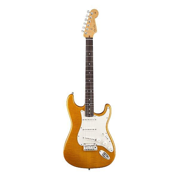 Guitarra Strato Fender Custom Deluxe Flame Top
