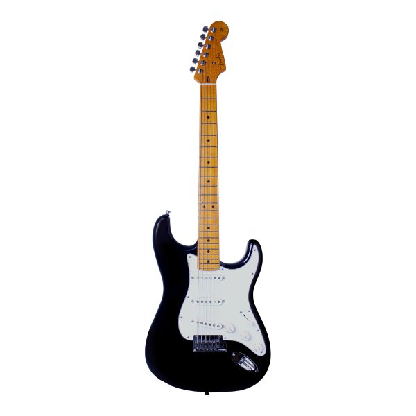 Guitarra Strato Fender Custom Deluxe BLK