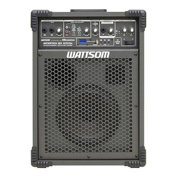 Caixa Acústica Ciclotron Entertech 120 DP