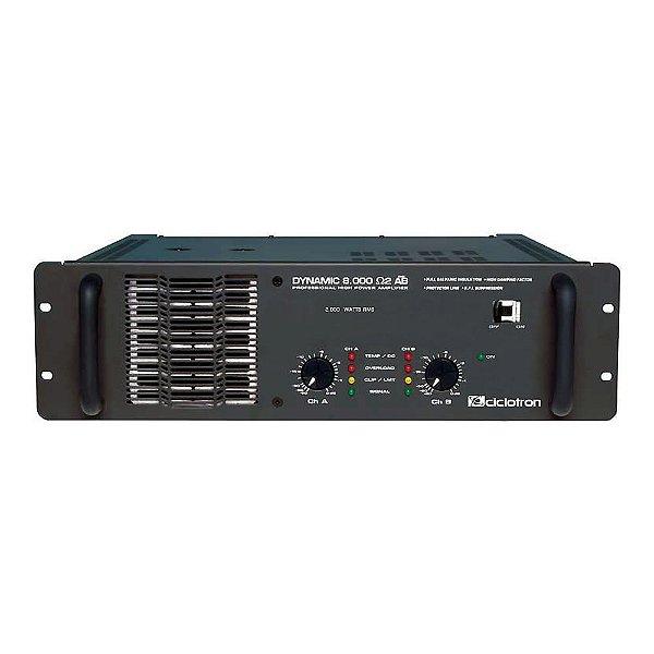 Amplificador Áudio Ciclotron Dynamic 8000 2 Ohms AB