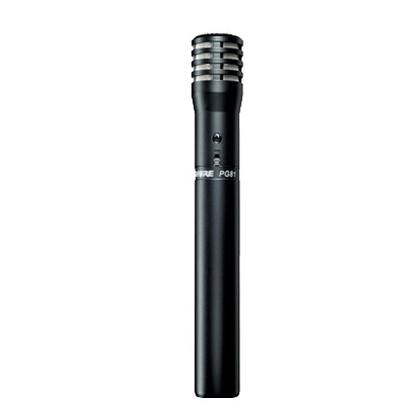 Microfone Instrumento Shure PG 81 XLR