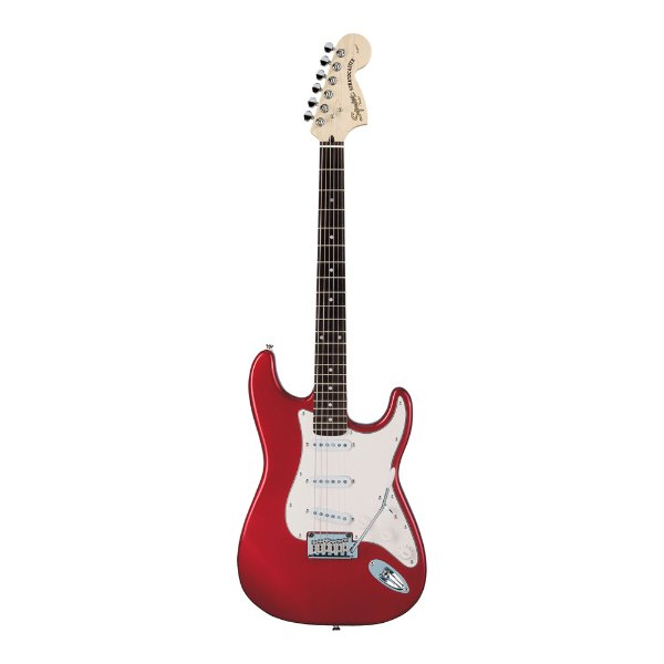 Guitarra Strato Squier by Fender Standard Stratocaster Candy Apple Red