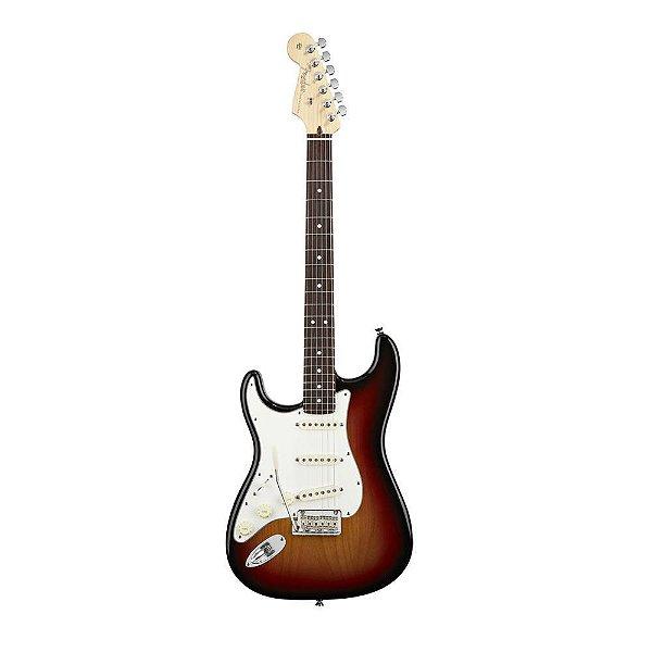 Guitarra Strato Canhoto Fender AM Standard RW SB