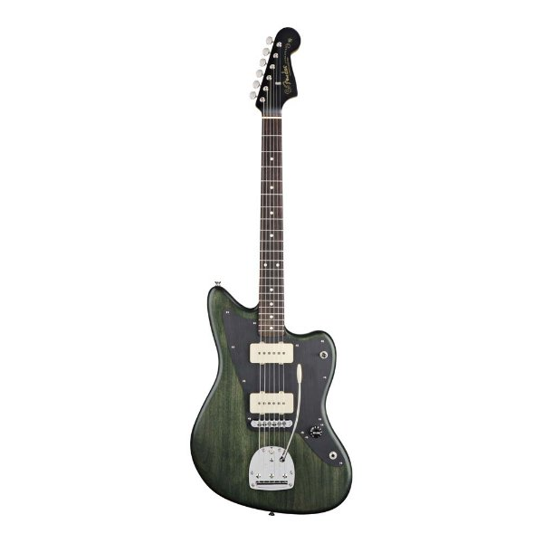 Guitarra Original Signature Thurston Moore Jazzmaster Forest Green Transparent