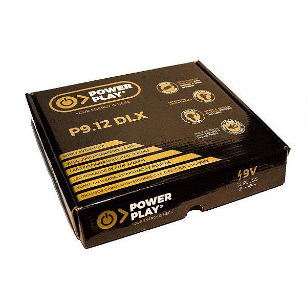 Fonte 12 Pedais 9V Power Play P 9.12