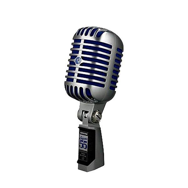 Microfone Estúdio Shure Super 55