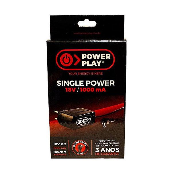 Fonte Pedal Power Play Single 18V