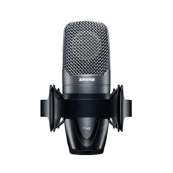 Microfone Estúdio Shure PG 42 LC