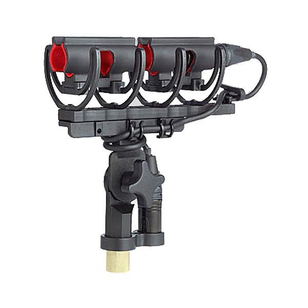 Suporte Duplo Microfone Shure A 89 LM BA