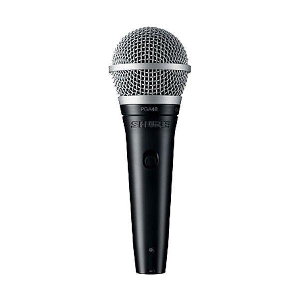 Microfone Mão Shure PGA 48 XLR