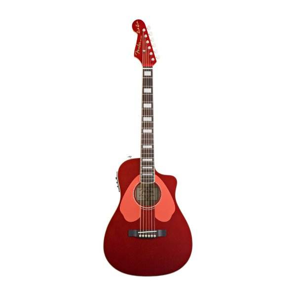 Violão Folk Fender Dick D Signature Malibu SCE SR