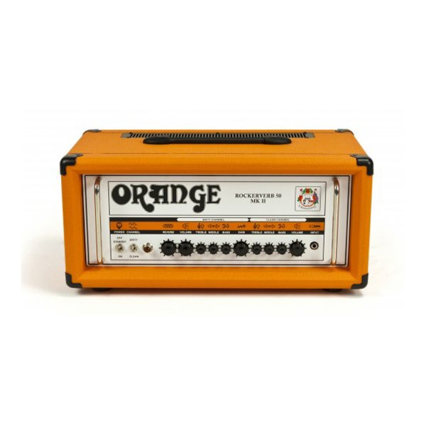 Cabeçote Guitarra Orange Rockerverb MK II 50