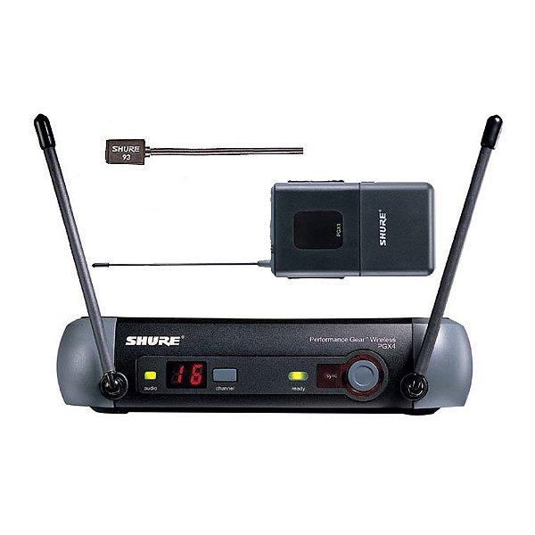 Sistema sem fio Lapela Shure PGXD 14 WL 93 - X8B