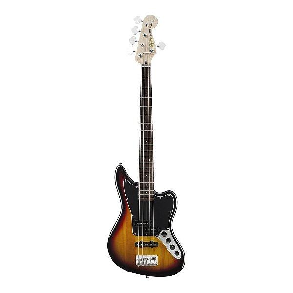 Contrabaixo 5C Ativo Squier Vintage Modified Jaguar Bass V SB