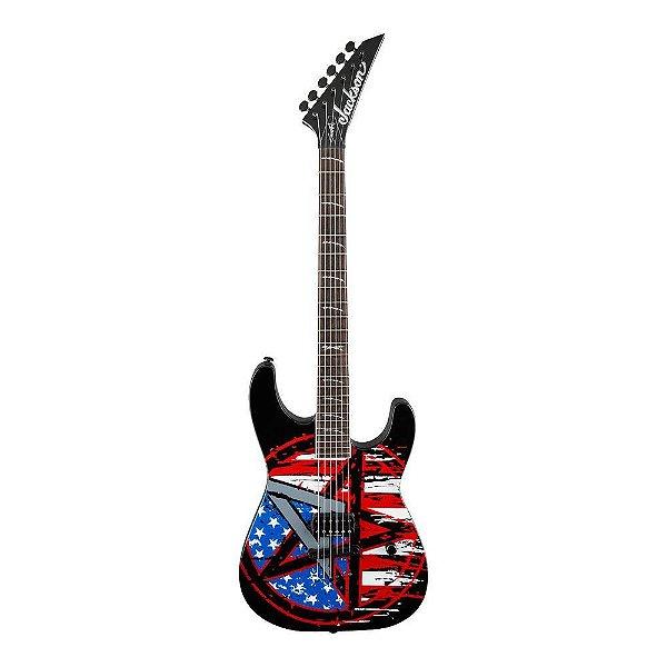 Guitarra Strato Jackson Signature Scott Ian Anarchy Soloist CG