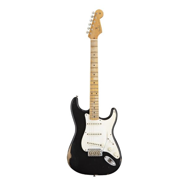 Guitarra Strato Fender Road Worn 50 BLK