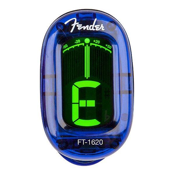 Afinador Cromático Fender California FT 1620 Azul