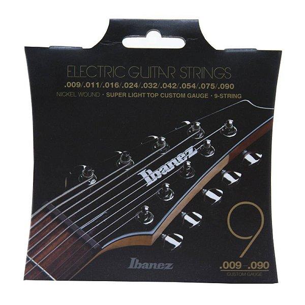 Encordoamento Guitarra Ibanez IEGS 9