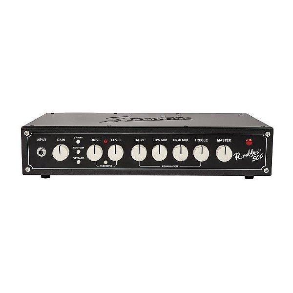 Cabeçote Contrabaixo Fender Rumble V3 500W 4x10